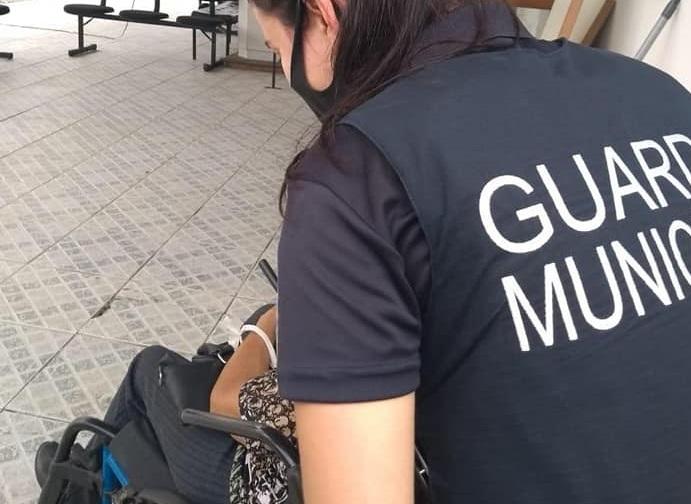 GM de Itajaí salva idosa que sofria agressão do próprio filho