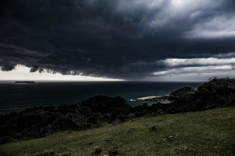 Vem temporais com risco de enxurradas nas próximas horas no Vale do Itajaí