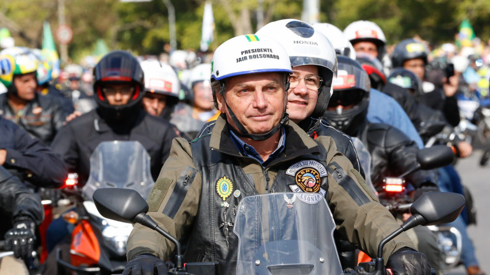 Presidente Bolsonaro realizará motociata em Santa Catarina