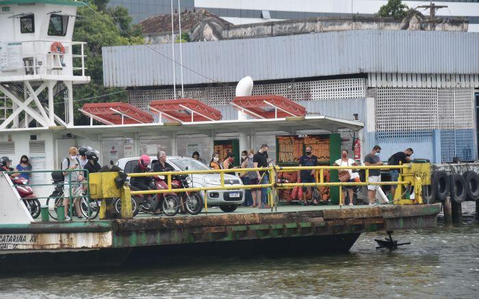Moradores de Navegantes preparam protesto contra o ferry